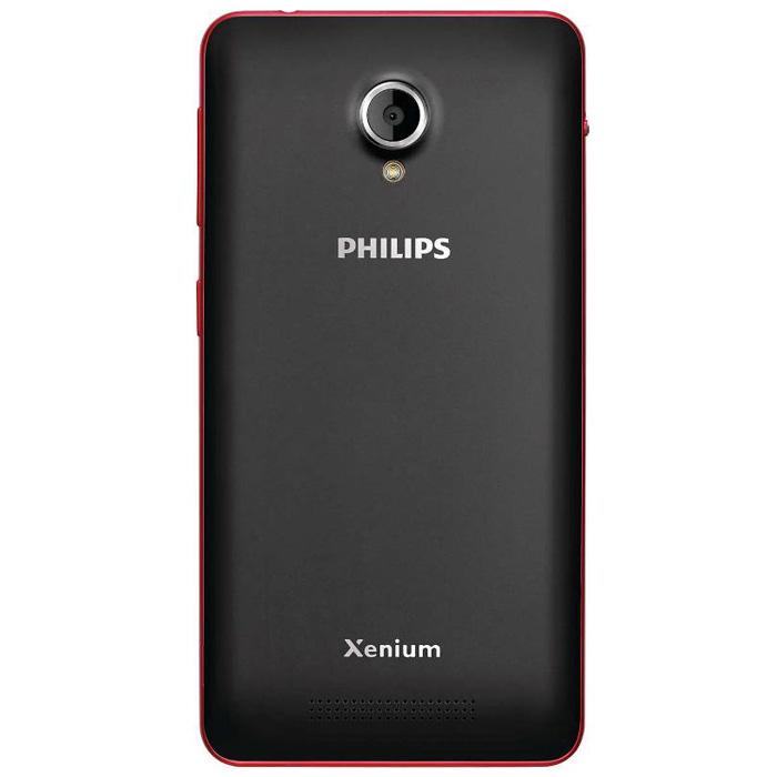 Смартфон Philips Xenium V377 Black/Red