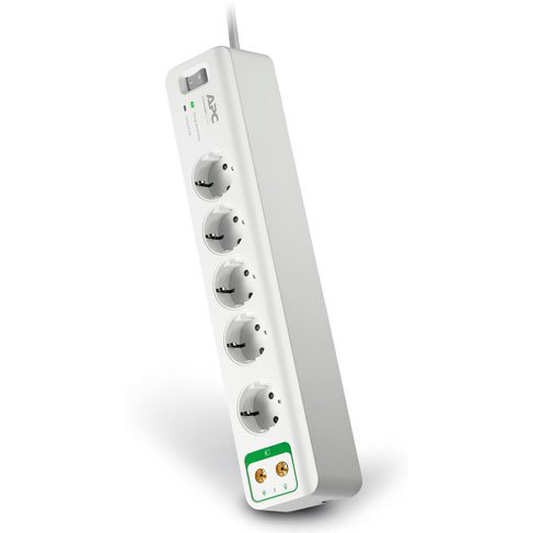 Сетевой фильтр APC by Schneider Electric PM5V-RS 1.8м White