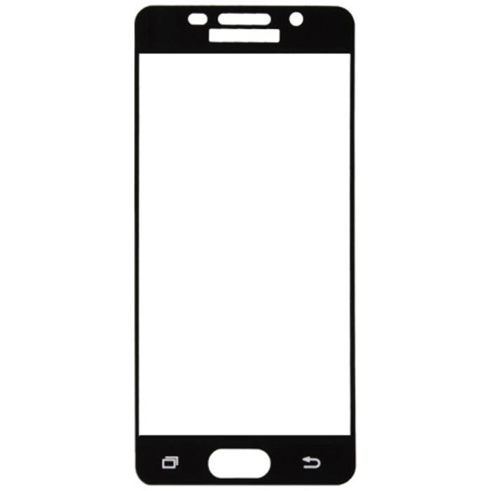 Защитное стекло Onext для Samsung Galaxy A3 (2016) SM-A310F черная рамка