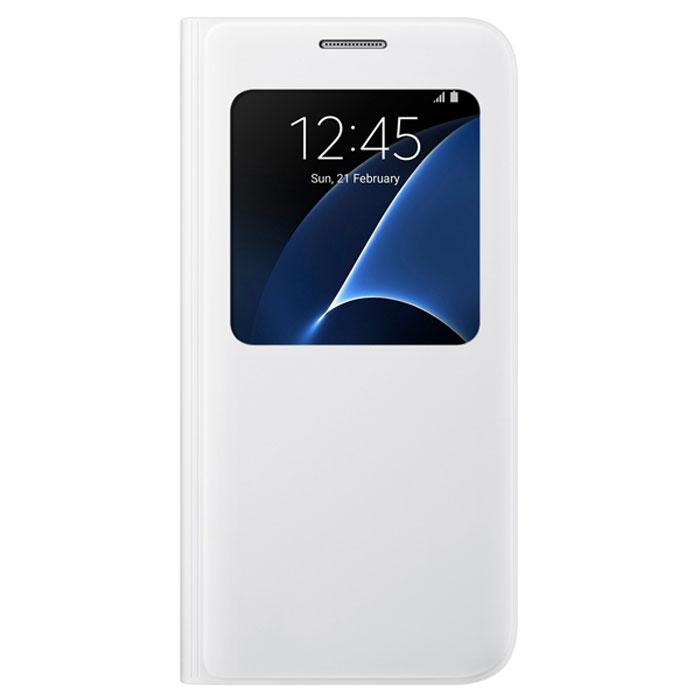 Чехол Samsung S View Cover для Samsung G930F Galaxy S7, чёрный