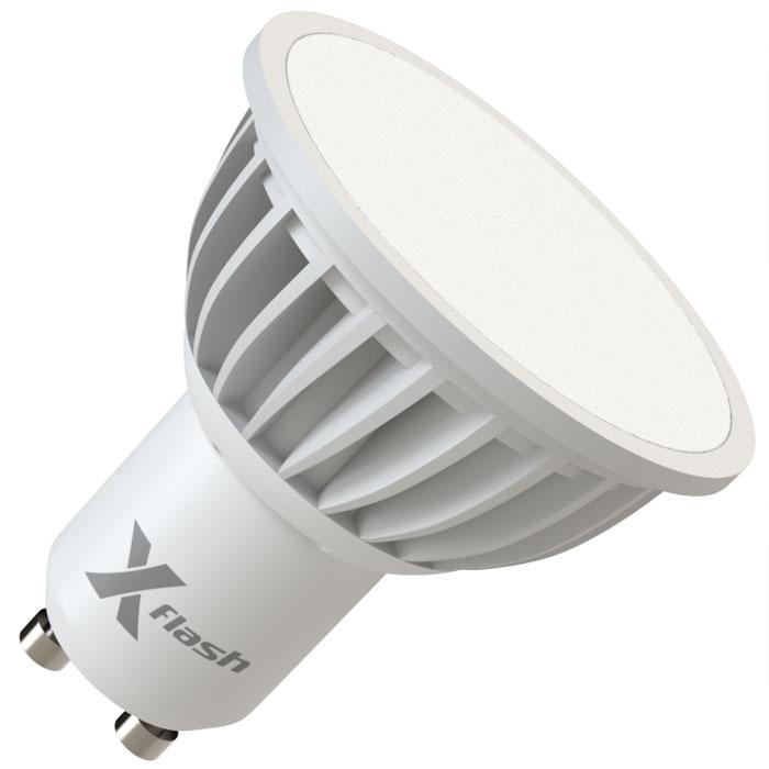 Светодиодная LED лампа X-flash MR16 GU10 3W 220V 44573 белый свет, матовый