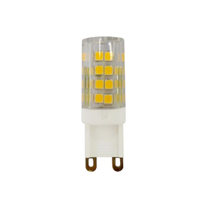 Светодиодная лампа ЭРА JCD G9 5W 230V желтый свет