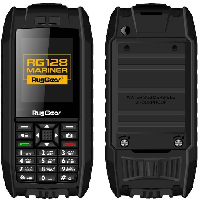 Защищенный телефон-амфибия RugGear RG 128