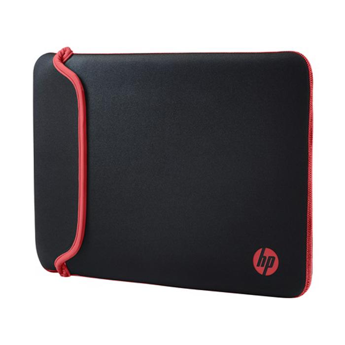 Чехол 14″ HP V5C26AA Chroma Standard, черный/красный