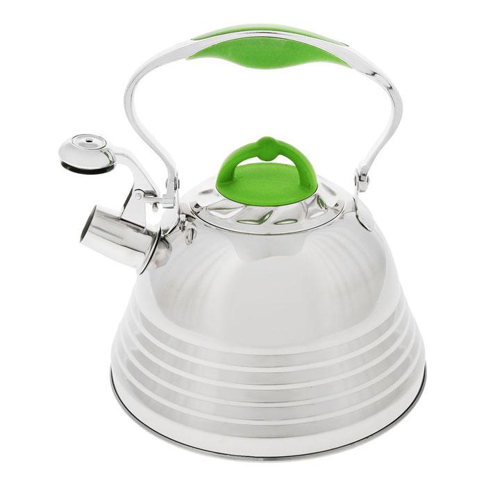 Чайник MAYER&BOCH 22785 silver/green
