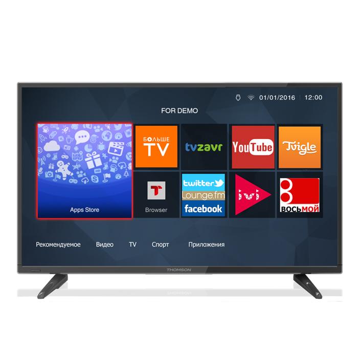 Телевизор ЖК 28″ Thomson T28D19DHS-01B черный