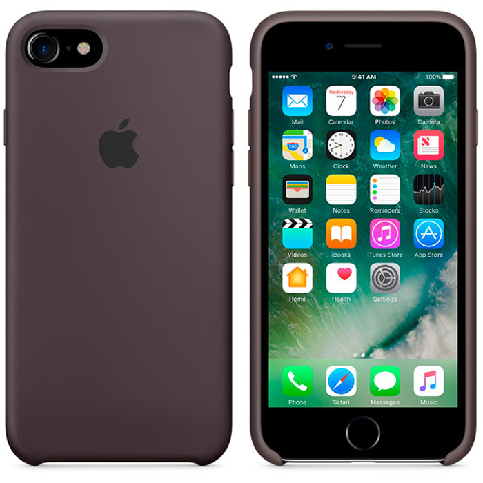 Чехол для Apple iPhone 7 Silicone Case Cocoa MMWN2ZM/A