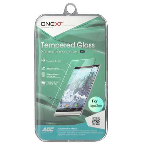 Защитное стекло Onext для Sony D5803 Xperia Z3 Compact