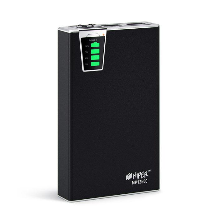 Внешний аккумулятор универсальный HIPER MP12500 12500mAh черный