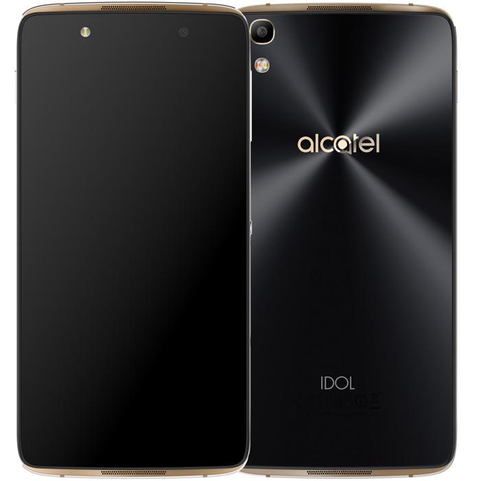 Смартфон Alcatel One Touch Idol 4 6055K Gold
