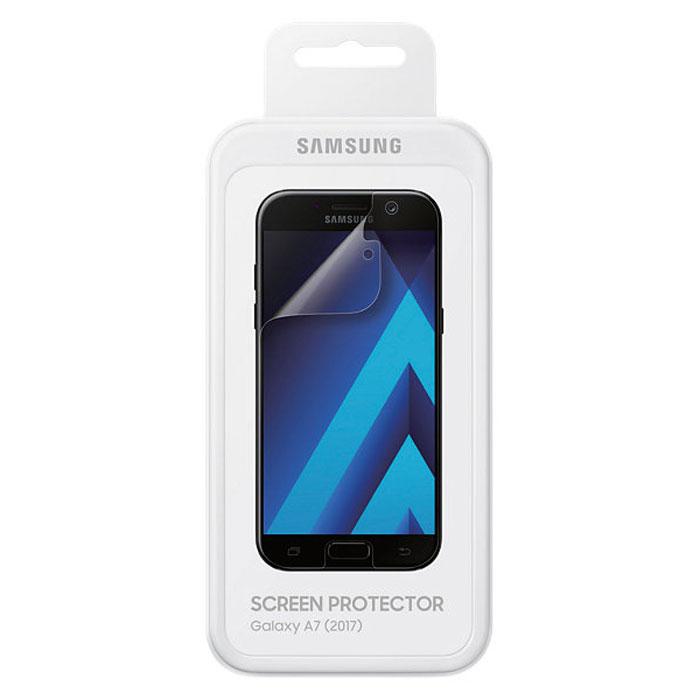 Защитная плёнка Samsung для Galaxy A7 (2017) SM-A720, 2 шт, прозрачная