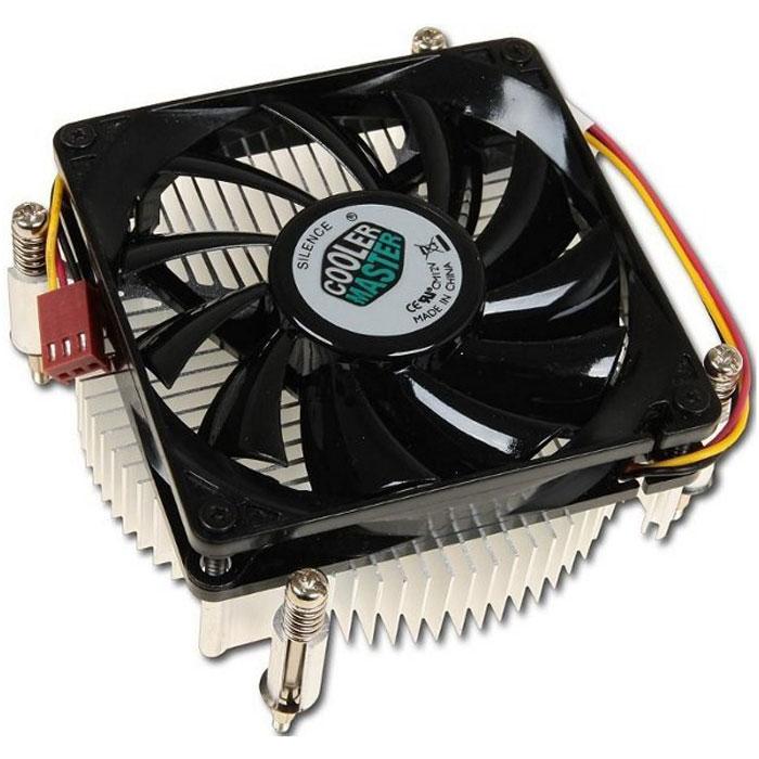Устройство охлаждения(кулер) Cooler Master 1156/1155/1150 низкопрофильный ( DP6-8E5SB-0L-GP )
