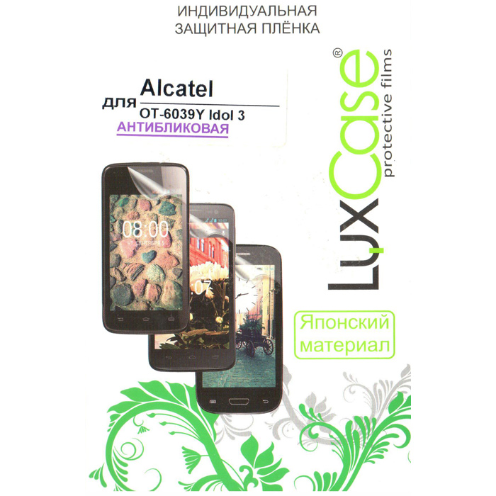Защитная плёнка LuxCase для Alcatel One Touch 6039Y Idol 3 , Антибликовая
