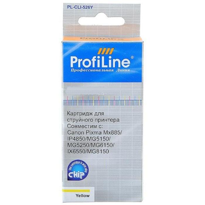 Картридж ProfiLine PL-CLI-451Y