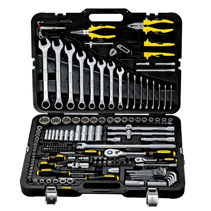 Универсальный набор инструментов 151 предмет Berger BG151-1214