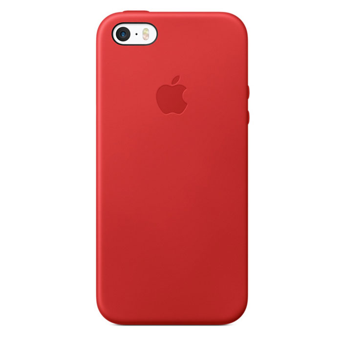 Чехол для iPhone 5s / iPhone SE Apple Case MNYV2ZM/A Red
