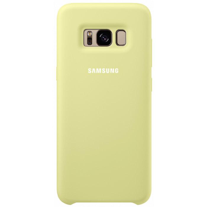Чехол Samsung Silicone Clear для Samsung Galaxy S8+ SM-G955, зеленый