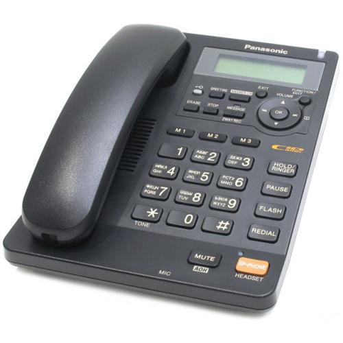 Телефон Panasonic KX-TS2570RUB черный