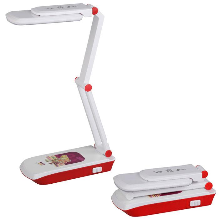 Настольный LED светильник ЭРА NLED-423-3W-R