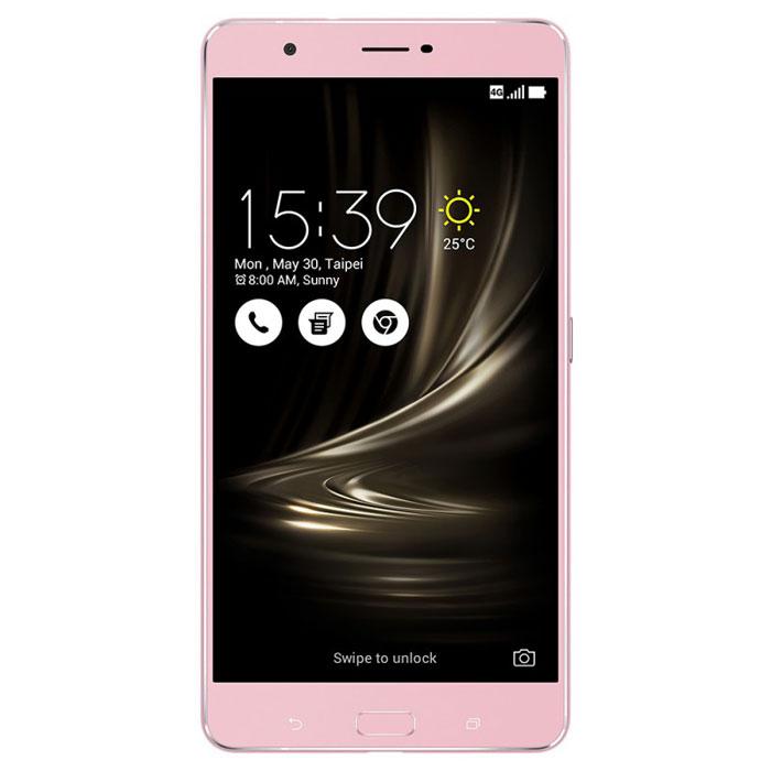 Смартфон ASUS ZenFone 3 Ultra ZU680KL 64GB LTE 6.8″ Dual Sim розовый ( 90AK0013-M00360 )