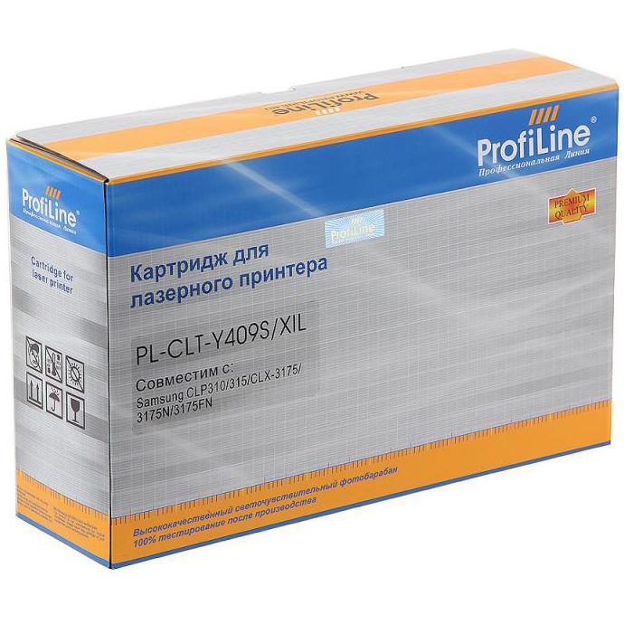 Картридж ProfiLine PL-CLT-Y409S Yellow
