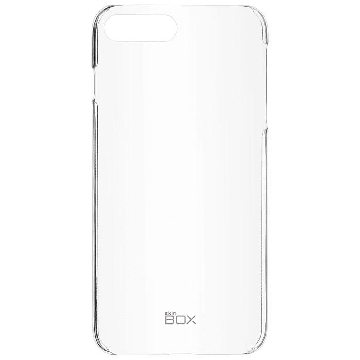 Чехол skinBOX Crystal 4People для iPhone 7 Plus, прозрачный