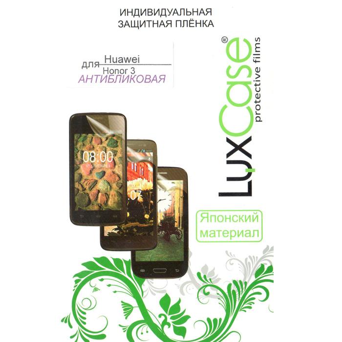 Защитная плёнка для Huawei Honor 3 LuxCase Антибликовая
