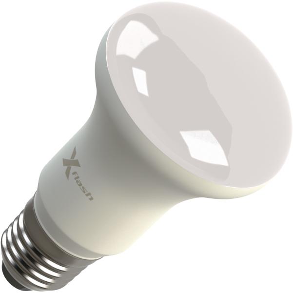 Светодиодная LED лампа X-flash Fungus R63 E27 8W 220V белый свет