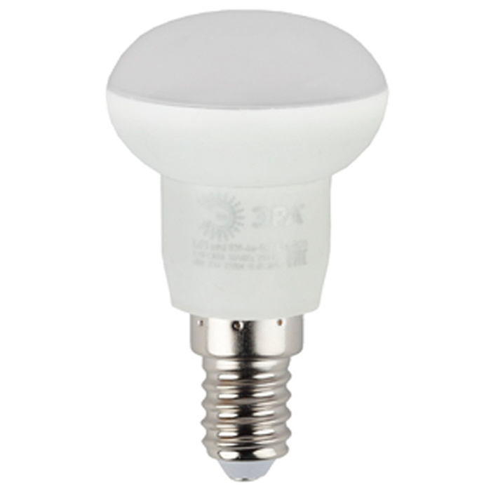 Светодиодная лампа ЭРА R39 E14 4W 220V желтый свет