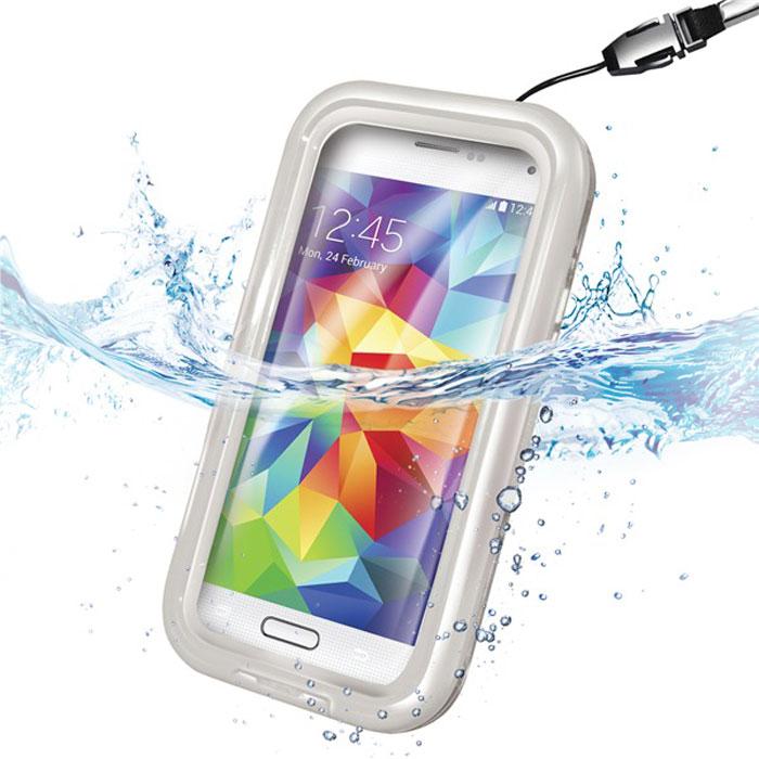 Водонепроницаемый чехол для смартфона 4.5-5.5″, Celly (белый)