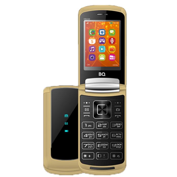 Сотовый телефон BQ Mobile BQ-2405 Dream Gold