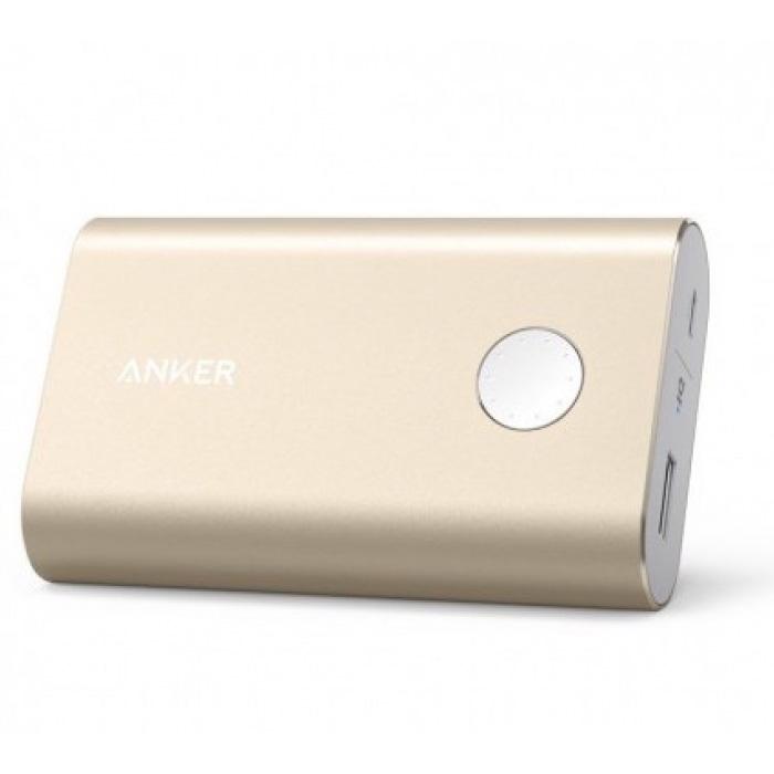 Внешний аккумулятор универсальный Anker Powercore+ A13100B1 10050mAh золотистый