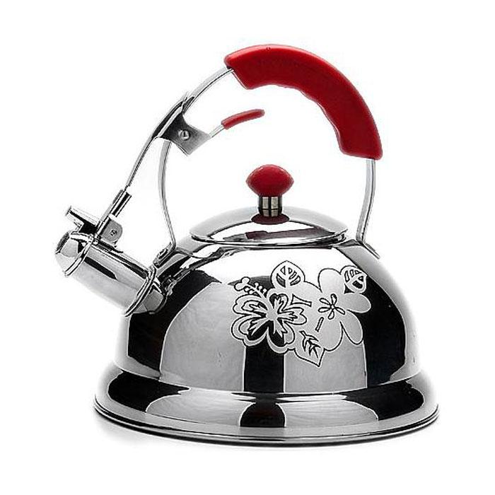 Чайник MAYER&BOCH 22790 silver/red