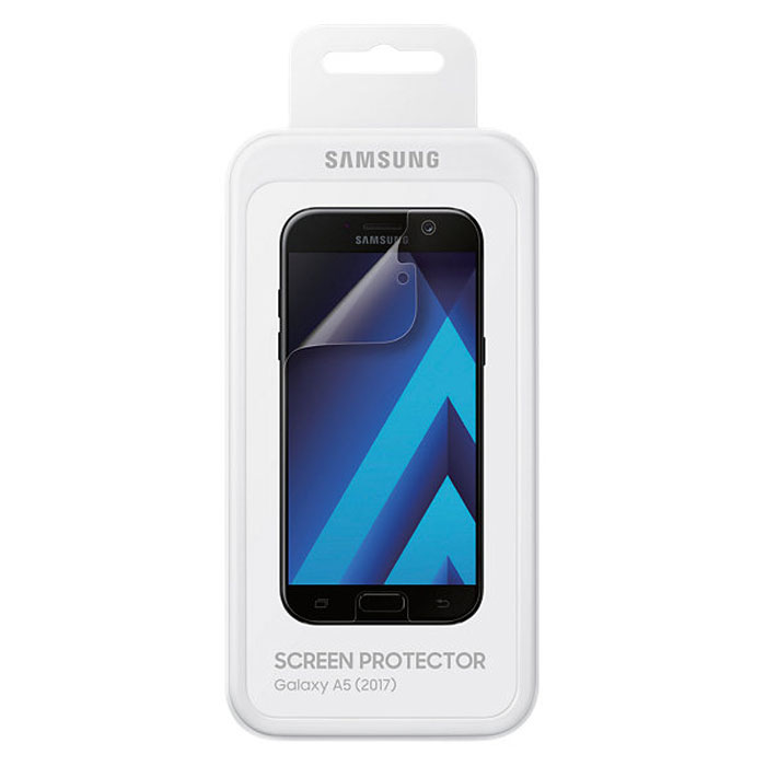 Защитная плёнка Samsung для Galaxy A5 (2017) SM-A520F, 2 шт, прозрачная