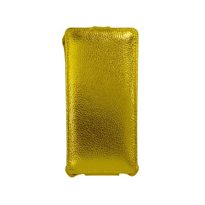 Чехол Gecko Flip case для Xiaomi Redmi 3s/3x, золотистый