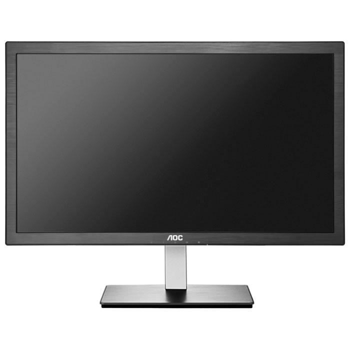 Монитор ЖК AOC I2276VW 21.5″ Black VGA DVI