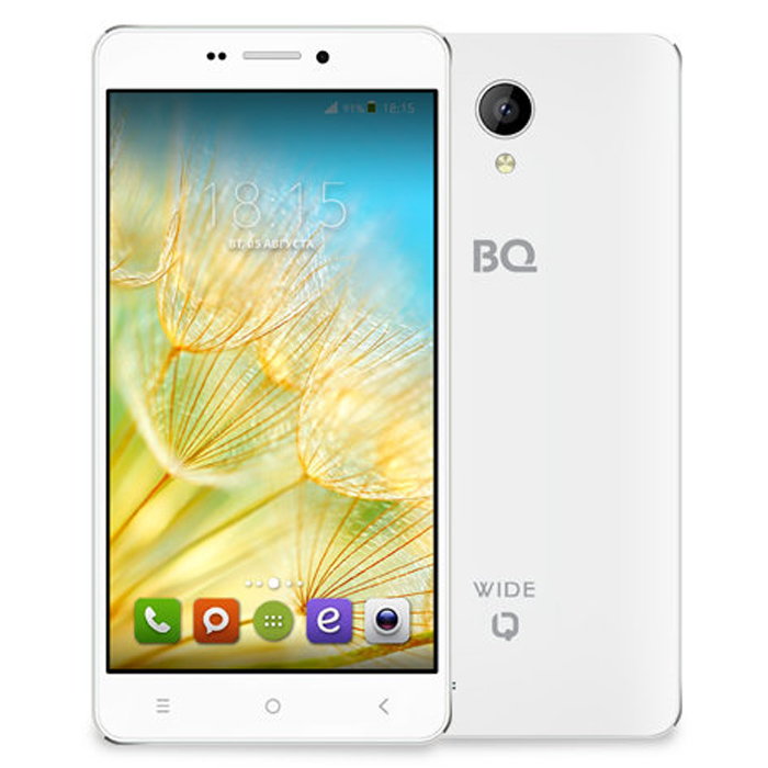 Смартфон BQ Mobile BQS-5515 Wide White