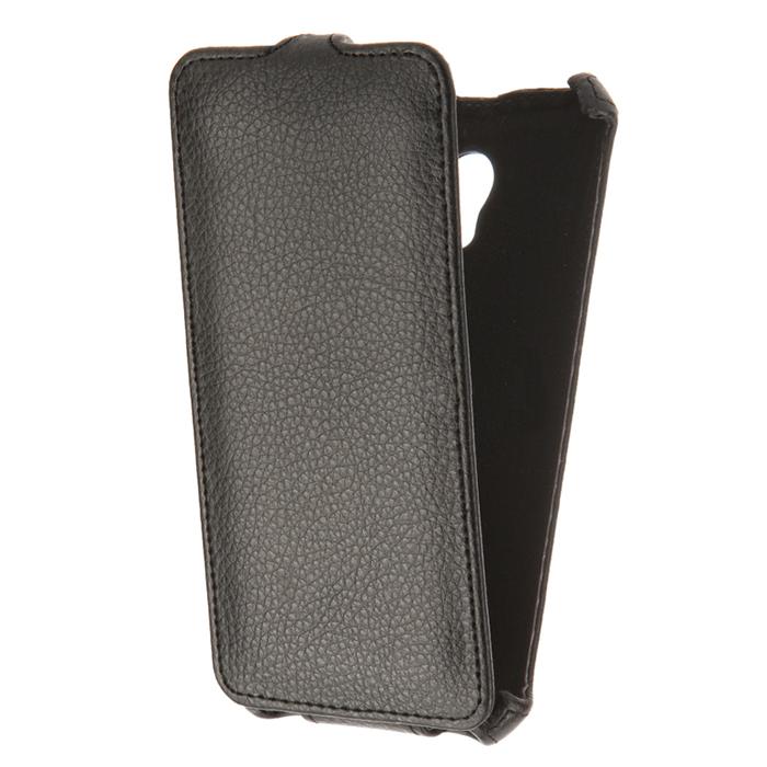 Чехол Gecko Flip для Meizu M5, черный
