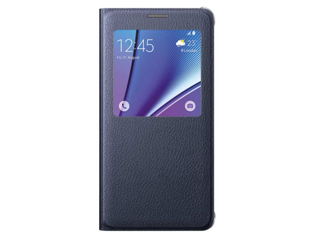 Чехол Samsung S View Cover для Samsung Galaxy Note 5 N920, черный