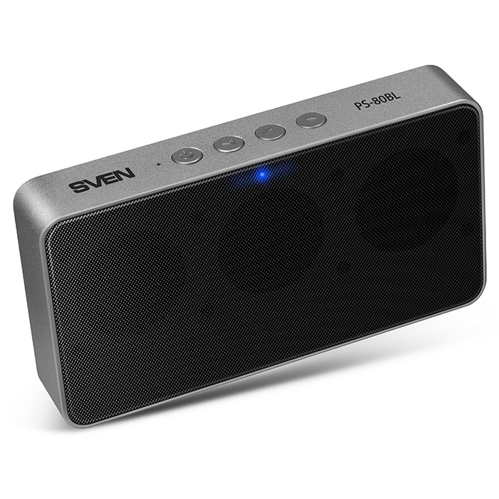 Беспроводные bluetooth-колонки Sven PS-80BL Black