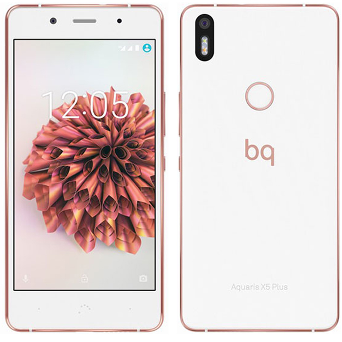 Смартфон BQ Aquaris X5 Plus 32GB 3GB RAM White/Gold
