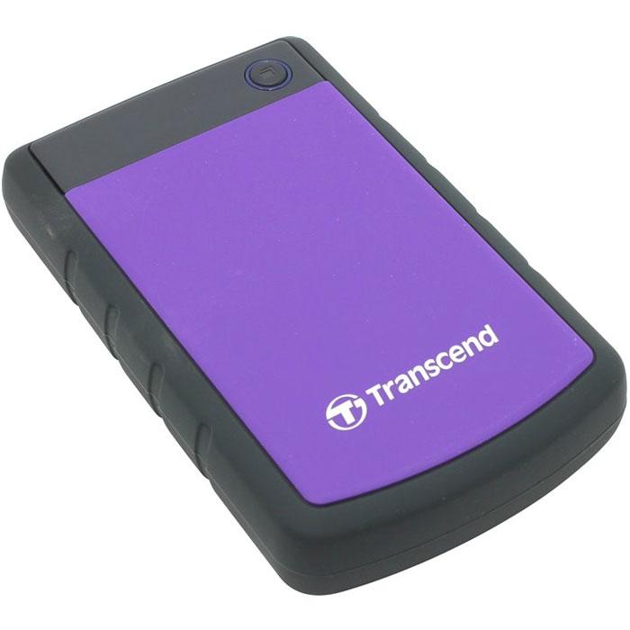 Внешний жесткий диск USB3.0 2.5″ 3.0Тб Transcend StoreJet H3 ( TS3TSJ25H3P ) Черный