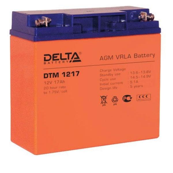 Батарея Delta DTM 1217 (12V 17Ah)