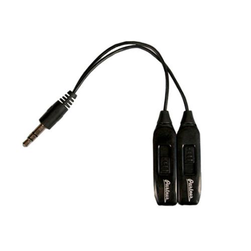 Аудиоразветвитель на две пары наушников Partner 3,5мм с раздельной регулировкой уровня громкости