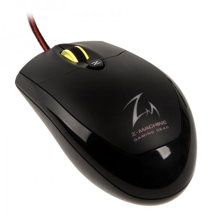 Мышь Zalman ZM-M600R USB Black оптическая, беспроводная