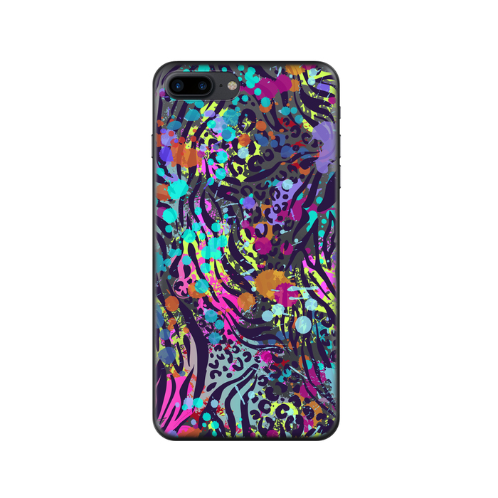 Чехол Deppa Art Case с пленкой для iPhone 7 Plus, Animal print, Гепард