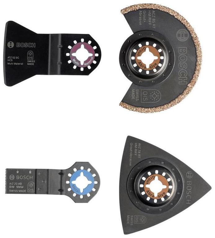 Набор пильных полотен по керамической плитке Bosch Starlock 2609256978