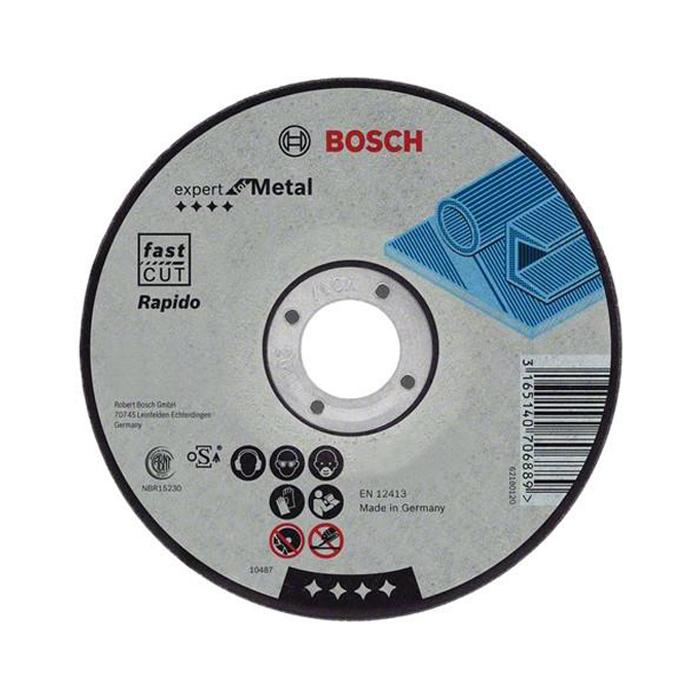 Отрезной круг по металлу Bosch Expert 230х1.9мм прямой 2608603400