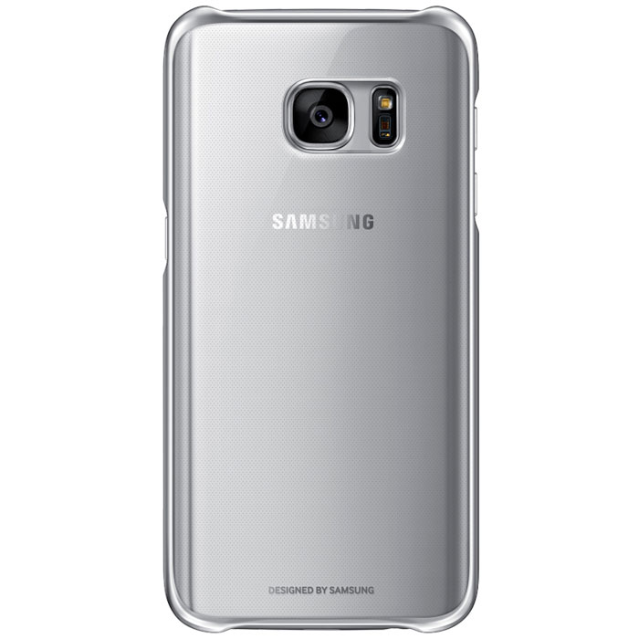 Чехол Samsung Clear Cover для Samsung G930F Galaxy S7, серебристый