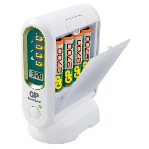 Зарядное устройство GP PB80GS270SA-U4 + 4 аккумулятора AA 2700mAh Серия Premium P.B.H800